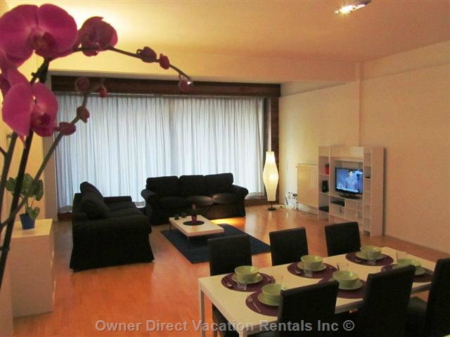 2-bedroom flat boasts a lot of space, lots of natural light, and modern design, ID#205527