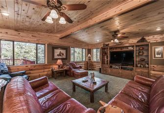 Buffalo Lodge, 7 Bedrooms, Hot Tub, Pool Table, Shuffleboard, Sleeps 16