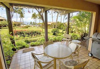 Wailea Ekahi 34B - 1 Bedroom, Updated Ocean View, Access to 4 Pools