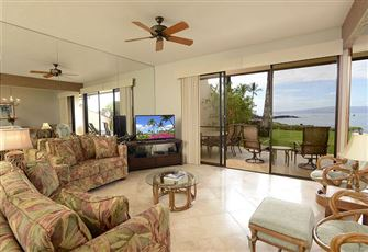 Makena Surf G-103 - 2 Bedrooms, Large Ground Floor Beachfront Condo, Pool