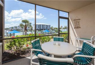 Estero Yacht & Racquet 218, 1 Bedroom, Canal View, Heated Pool, Sleeps 4