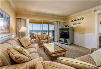 Vacation Villas 233, 2 Bedroom, Gulf Front, Elevator, Heated Pool, Sleeps 6