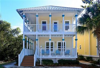 2 Story, 4 Bedroom, 3 Bath Old Florida Village Vacation Rental Home.