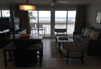 Beachfront at Sandpiper Cove