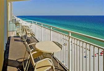 This Elegant Beach Vacation Condo has Three Bedrooms and Comfortably Sleeps 8!