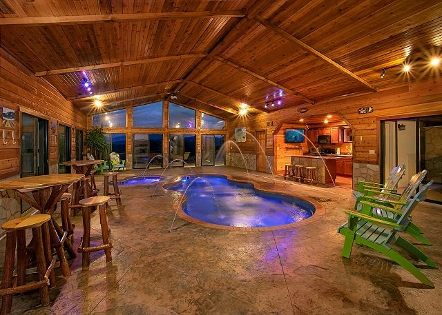 Incredible Mansion with Private Indoor Pool and Theater Room