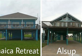 2 Beach Houses Sidy-by-Side-