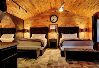 Luxury Upscale Cabins Right