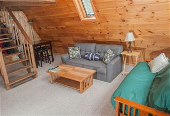 Cozy Pine-Walled 2 Bedroom