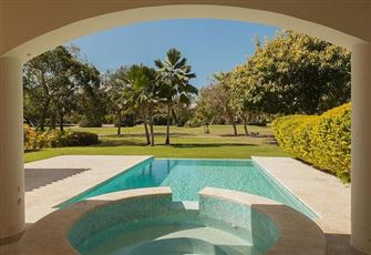 Garden/Pool/Golf View in Golf Gated Community