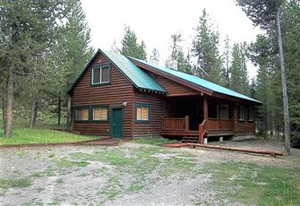Cabin in the Macks