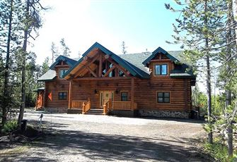 Brand New Log Cabin