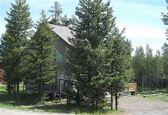 Great Cabin Located in