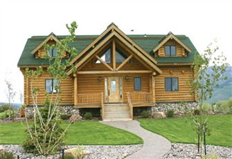 "Luxurious 10"" Log Cabin"