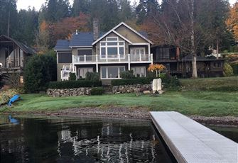 Perched beside Lake Sammamish
