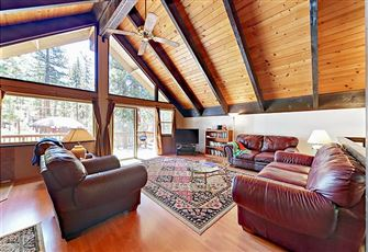 This 4-Bedroom 2-Bath Chalet