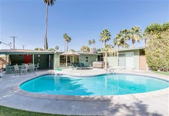 Stylish 3br/3ba Palm Springs