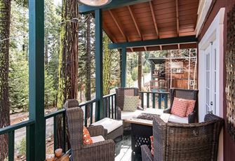 This Private Forested 3br