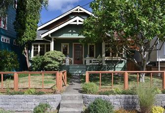 Craftsman Style House Originally