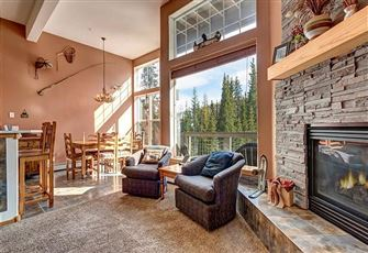 Our 2br/2ba Silverthorne Townhome