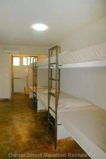 Bunkroom Located in Apartment #1, with a/C, and Private Bath