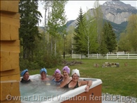 Relax (Or Have Fun) in the Hot Tub
