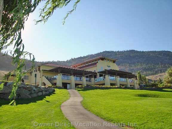 The 36 Hole Osoyoos Golf and Country Club