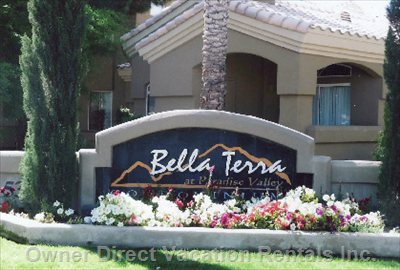 Bella Terra Entrance off Shea Blvd