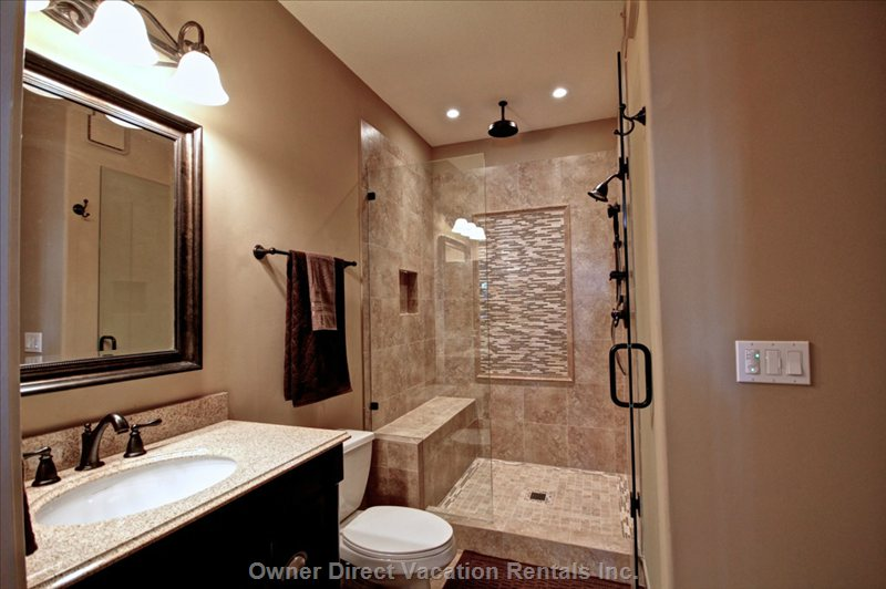 Main Bathroom Connected to Guest Room