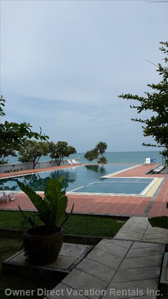 Pool Erea Whit Great Sea View.