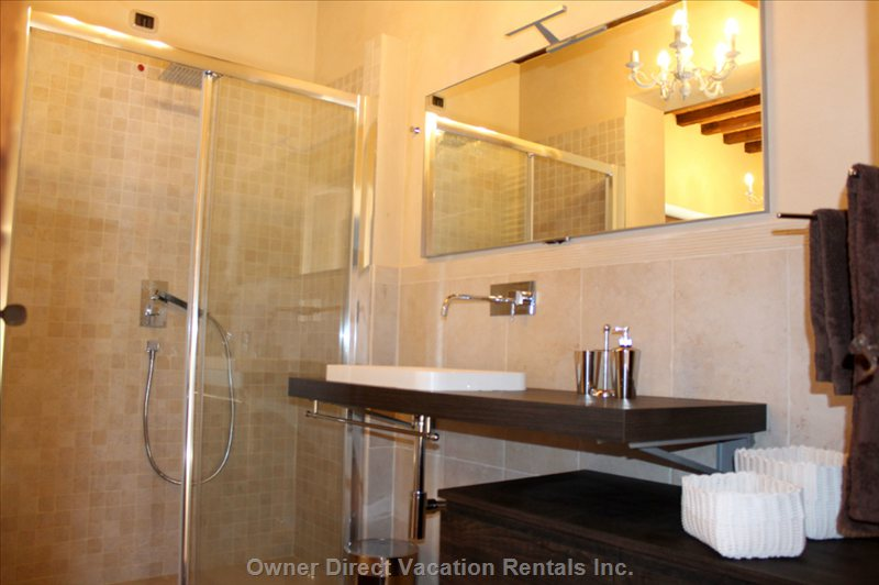 One of the Three Large Bathrooms, Very Beautiful Modern Features.