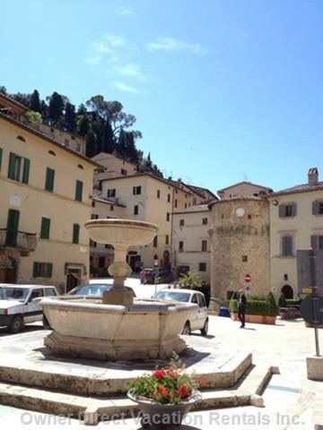 View of our Piazza Principale.