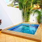 Private Pool, the House is Fenced by a Wall no Unwanted Viewers