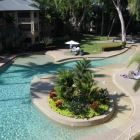 View of the Pool from Front Balcony