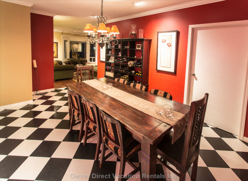 Formal Dining for up to 8