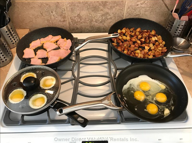 One Example of a Daily Hot Breakfast