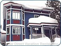 Chalet is Located 3 Homes from Top of Silver Queen Chair