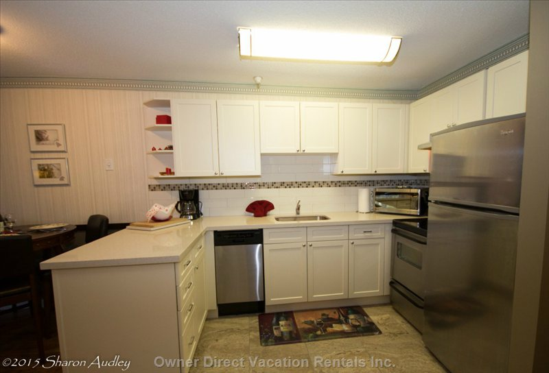 Brand New Kitchen with Stainless Appliances