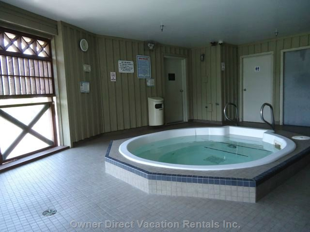 Hot Tub on the 3rd Floor is Open Yet Covered