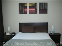 Large Bedroom with Queen Bed and your Own TV