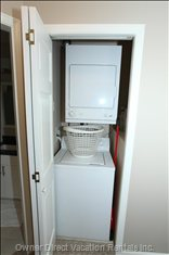 Washer & Dryer on Top Floor Outside Bedrooms