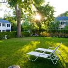 Large Backyard Means Privacy and the Room to Relax Or Entertain. The Yard Can Fit a 50 X 70 Tent for Special Occasions.