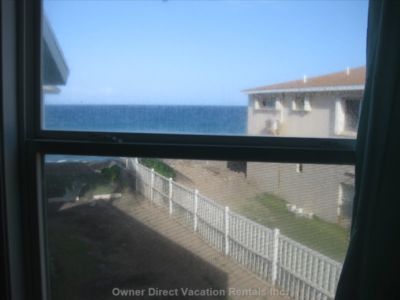 View of Ocean from Bedroom 1