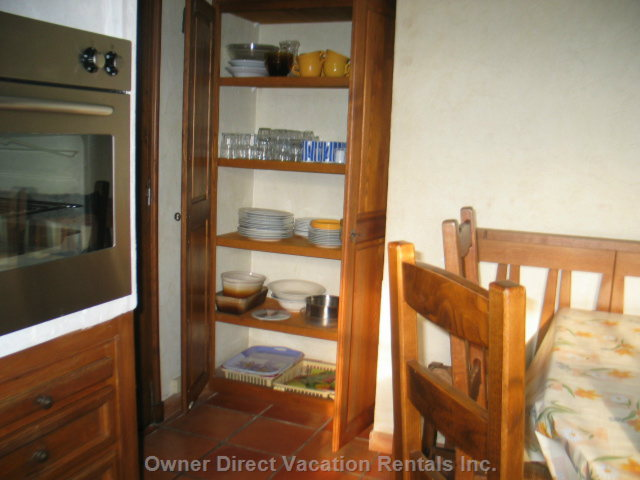 The Cupboard of the Kitchen