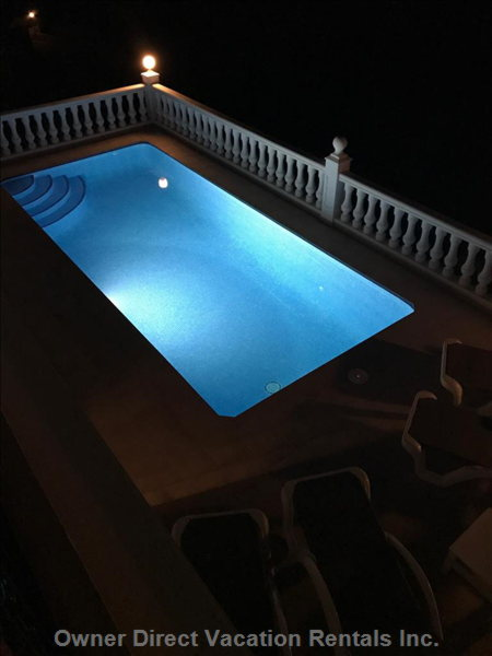 Evening Dip in the Heated Pool?
