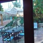 Outdoor Dining. Close to Spa. See/Hear Waterfall/Lagoon Pool from Unit.