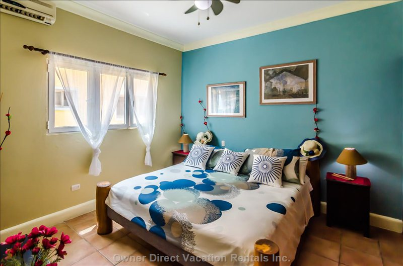 Master Bedroom with King Size Bed and Airco ...
