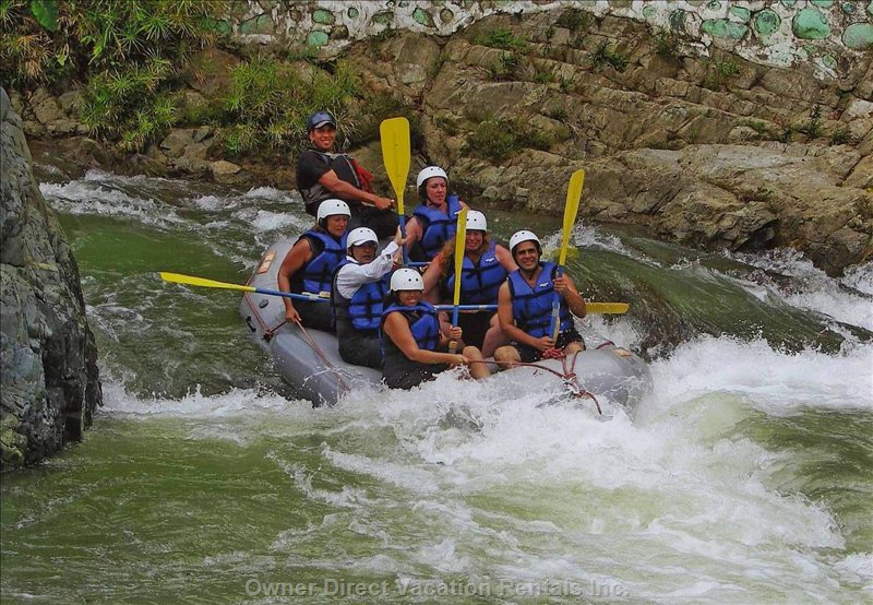 ....White-Water Rafting and More.