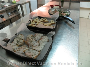Professional Kitchen: Experience the Italian Cuisine