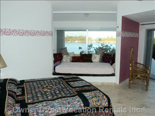 Bedroom with Queen and Double Beds